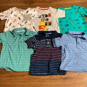 Other - Lot of toddler short sleeve shirts